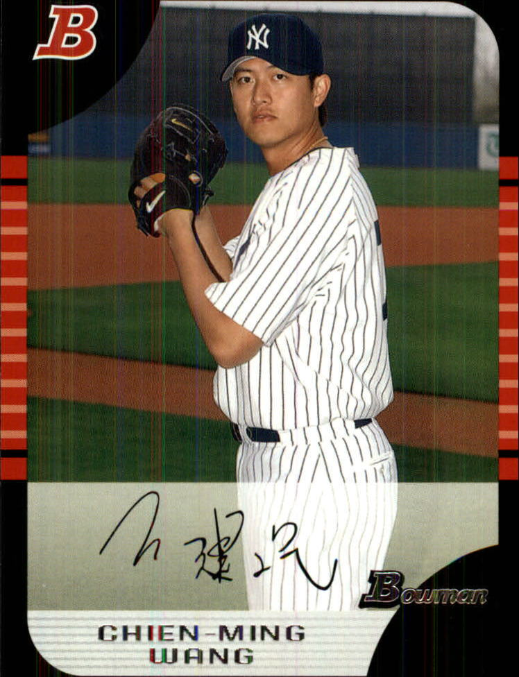 2005 Bowman Draft #4 Chien-Ming Wang