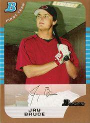 2005 Bowman Draft Gold #32 Jay Bruce FY