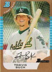 2005 Bowman Draft Gold #39 Travis Buck FY