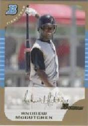 2005 Bowman Draft Gold #63 Andrew McCutchen FY