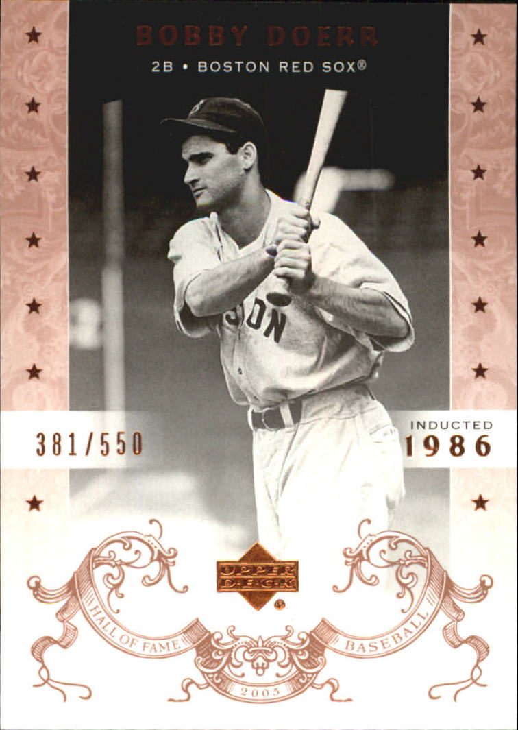 2005 Upper Deck Hall of Fame #8 Bobby Doerr