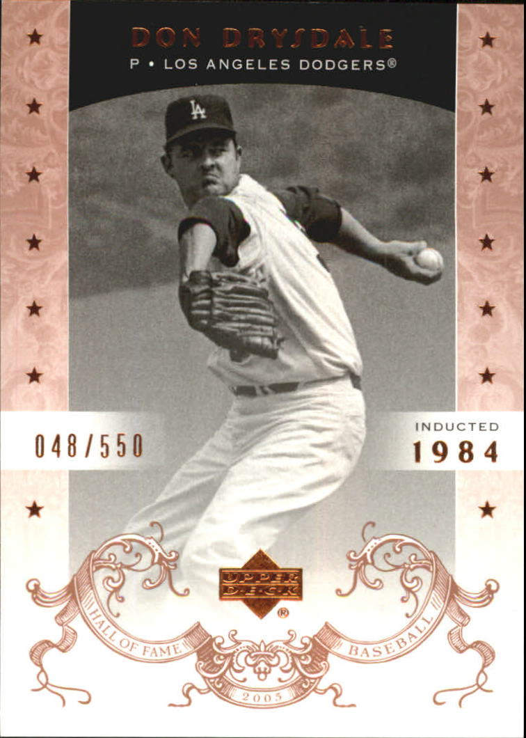 2005 Upper Deck Hall of Fame #18 Don Drysdale
