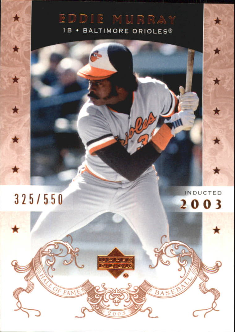 2005 Upper Deck Hall of Fame #23 Eddie Murray
