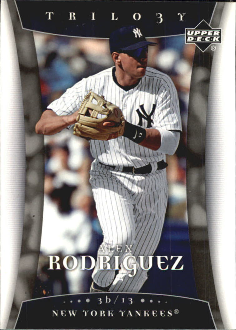 2005 Upper Deck Trilogy #5 Alex Rodriguez