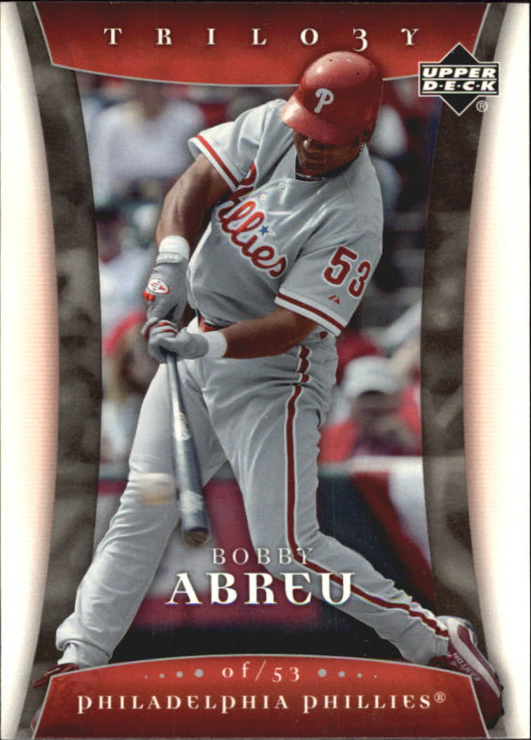 2005 Upper Deck Trilogy #10 Bobby Abreu