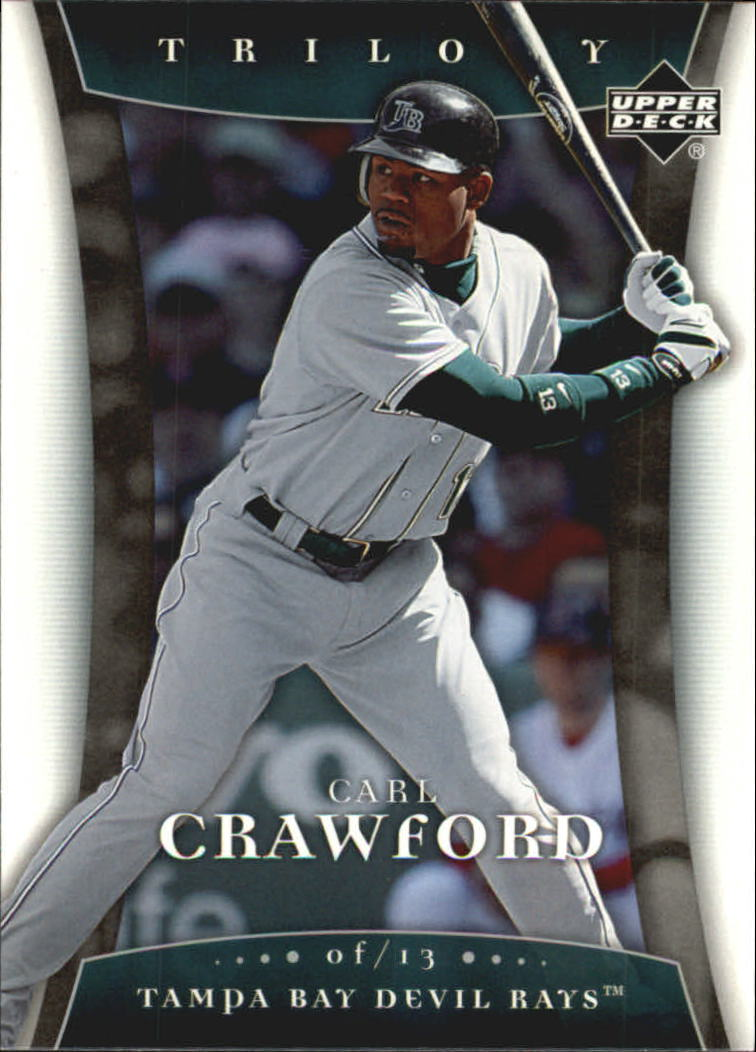 2005 Upper Deck Trilogy #15 Carl Crawford