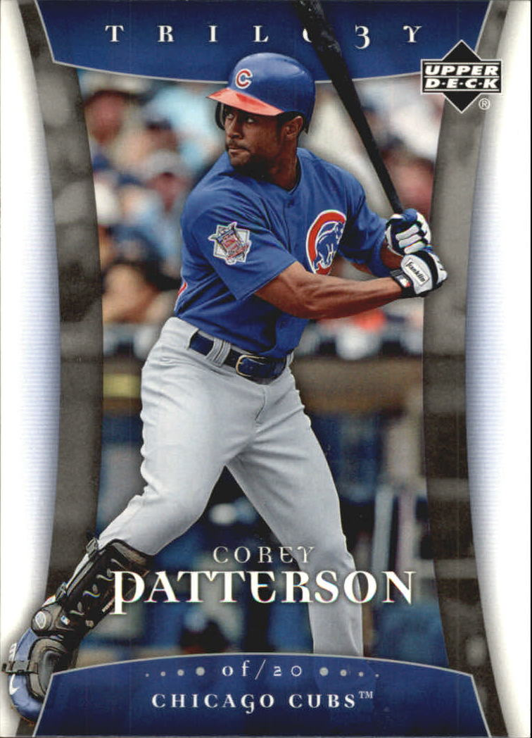 2005 Upper Deck Trilogy #20 Corey Patterson