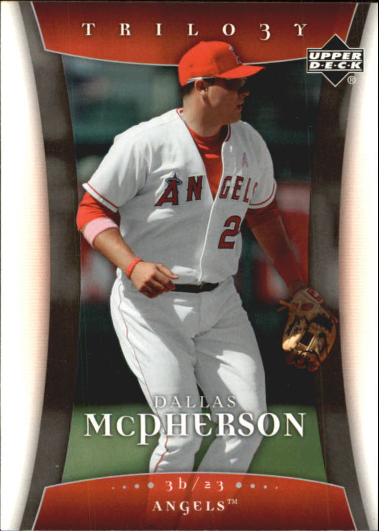 2005 Upper Deck Trilogy #23 Dallas McPherson