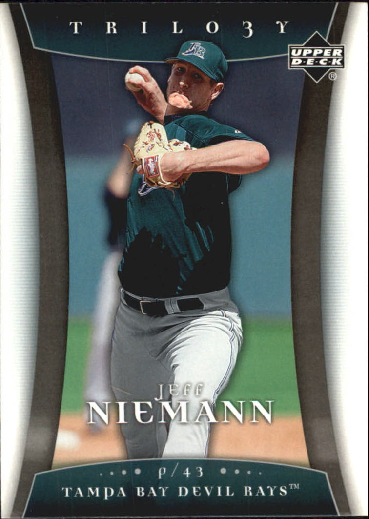 2005 Upper Deck Trilogy #45 Jeff Niemann RC