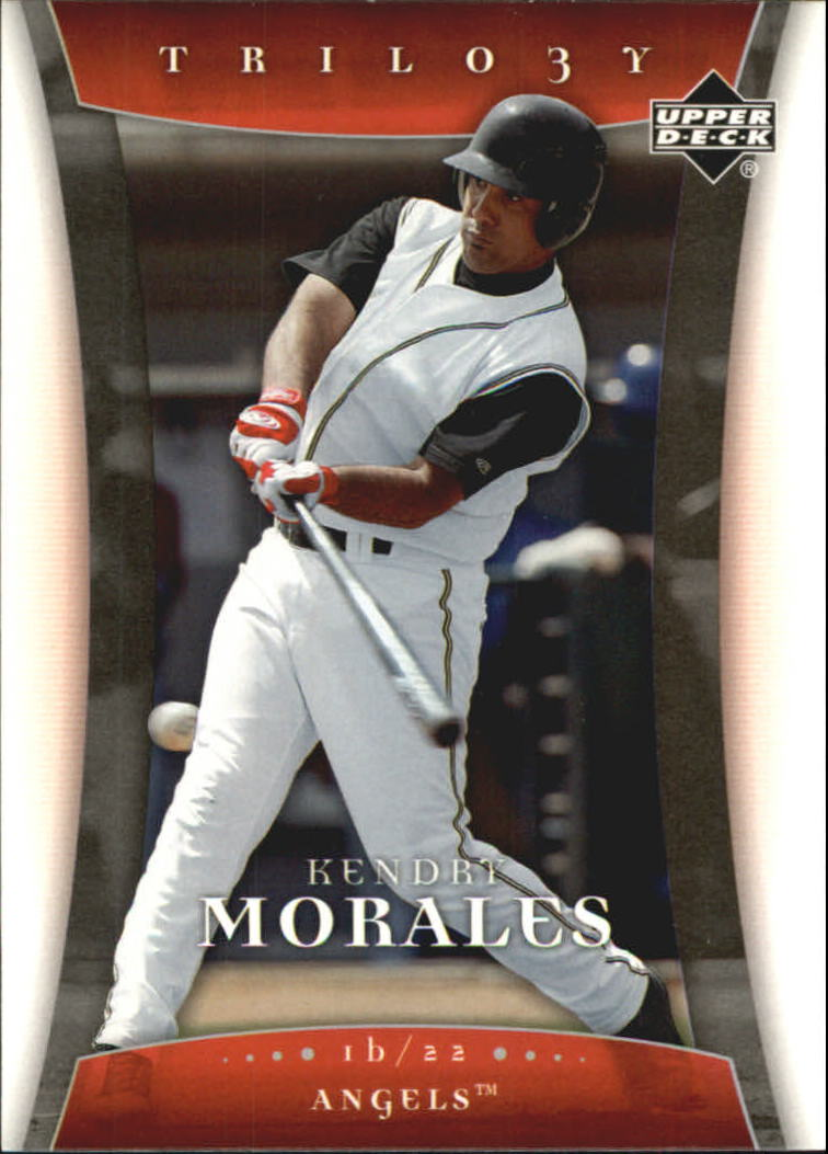2005 Upper Deck Trilogy #59 Kendry Morales RC
