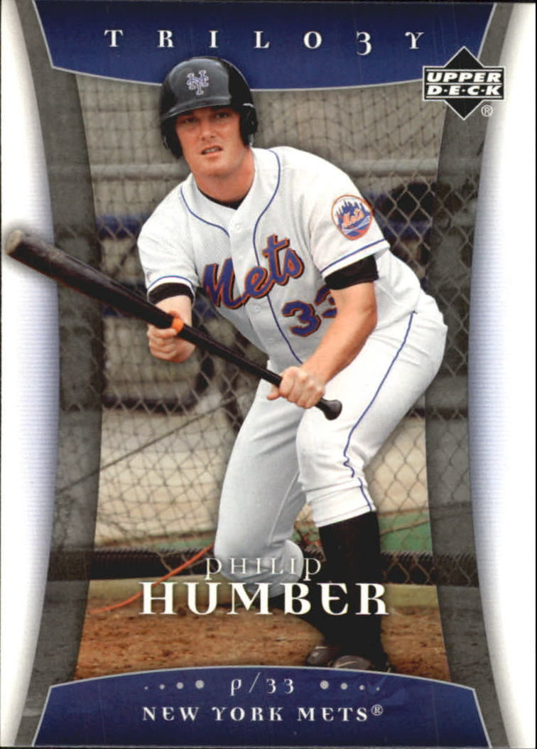 2005 Upper Deck Trilogy #78 Philip Humber RC