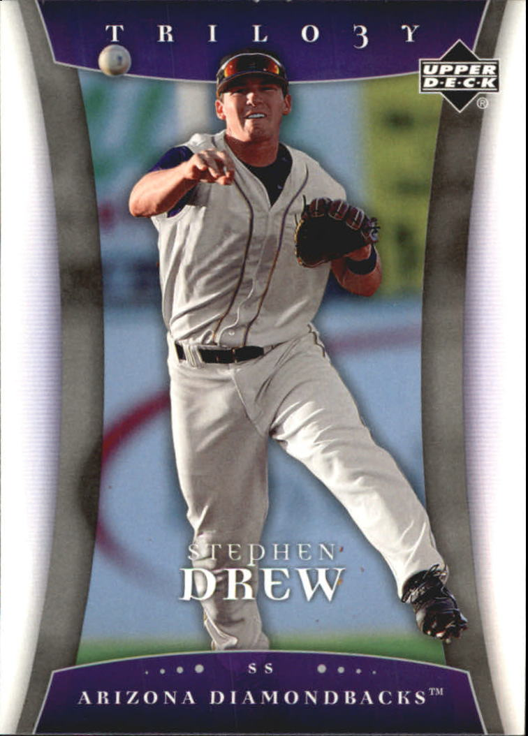 2005 Upper Deck Trilogy #89 Stephen Drew RC
