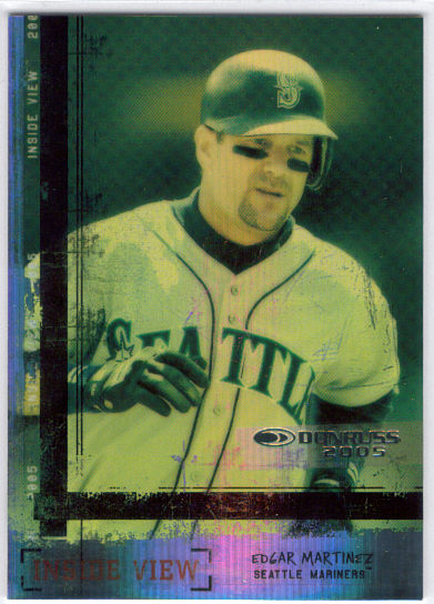 2005 Donruss Inside View #10 Edgar Martinez