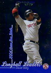 2005 Donruss Longball Leaders #5 David Ortiz front image