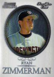 2005 Bowman Sterling #RZ Ryan Zimmerman RC