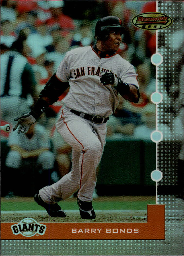 2005 Bowman's Best #25 Barry Bonds