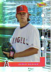 2005 Bowman's Best #36 Jered Weaver FY RC