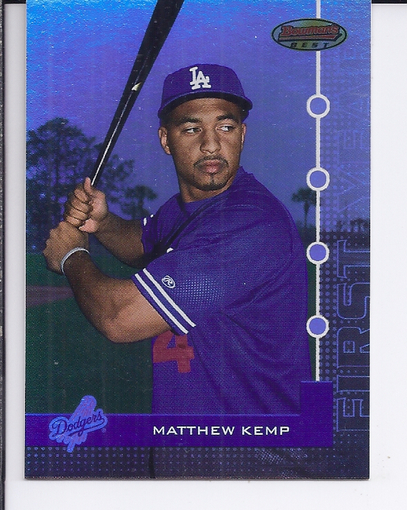 2005 Bowman's Best #96 Matthew Kemp FY RC