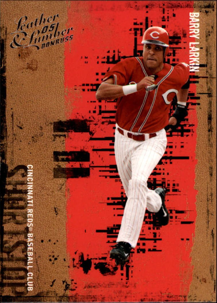 2005 Leather and Lumber #12 Barry Larkin
