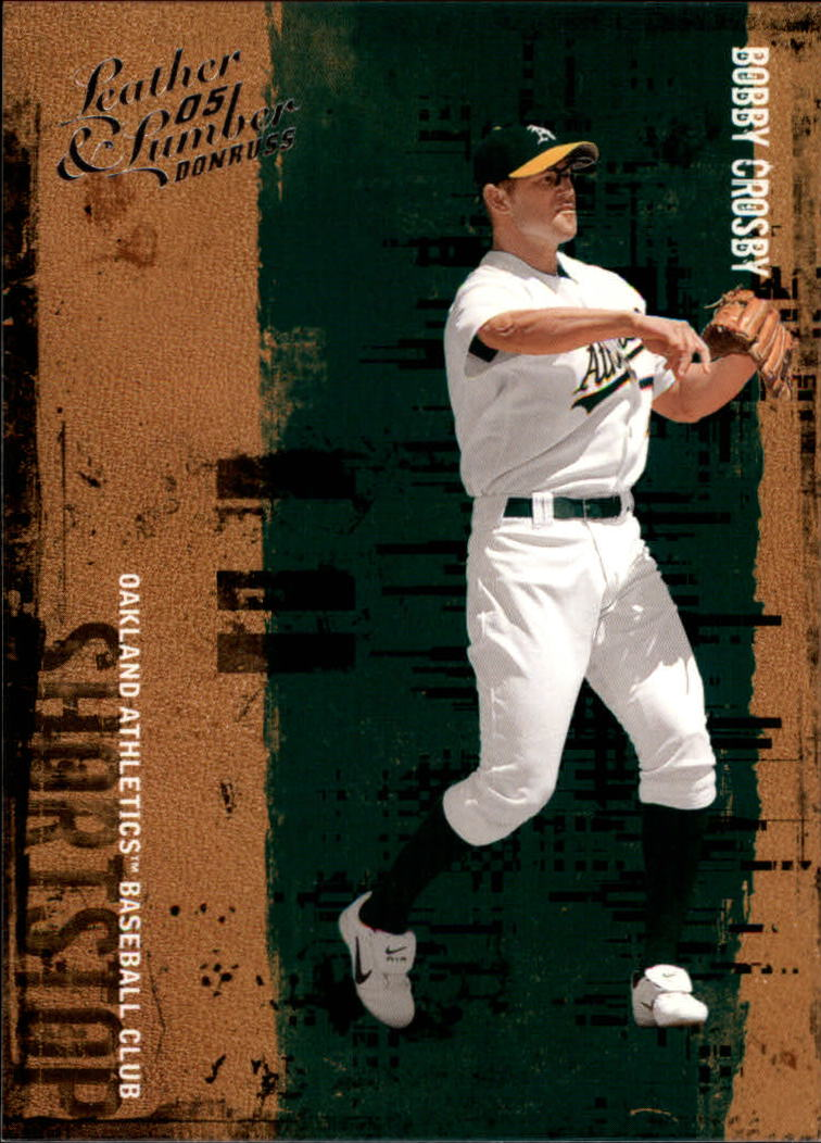 2005 Leather and Lumber #17 Bobby Crosby