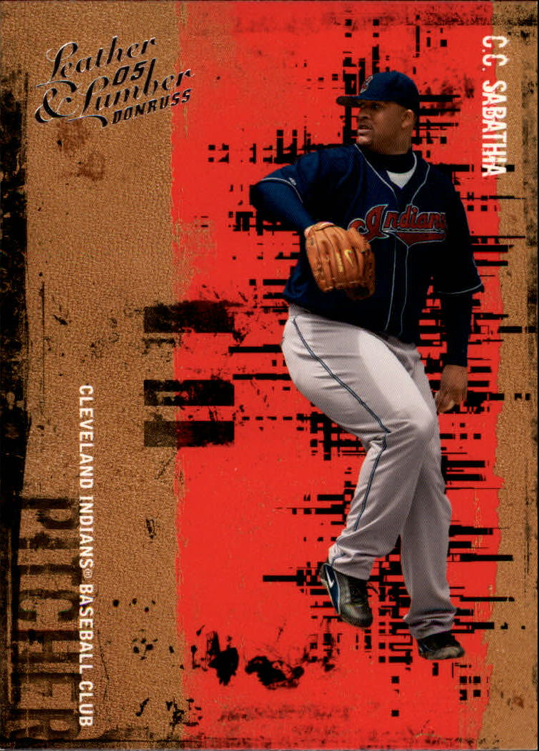 2005 Leather and Lumber #20 C.C. Sabathia