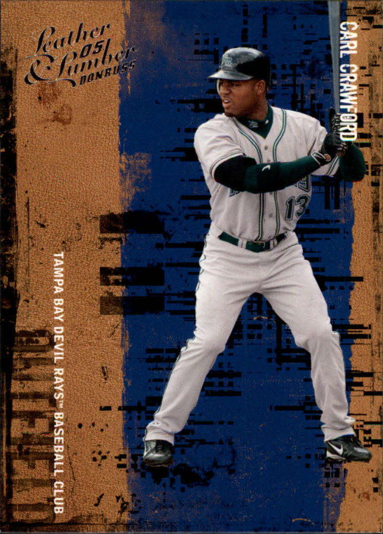 2005 Leather and Lumber #21 Carl Crawford
