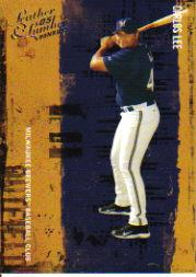 2005 Leather and Lumber #25 Carlos Lee