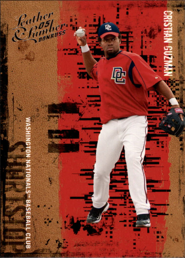 2005 Leather and Lumber #32 Cristian Guzman
