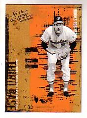 2005 Leather and Lumber #138 Brooks Robinson RET