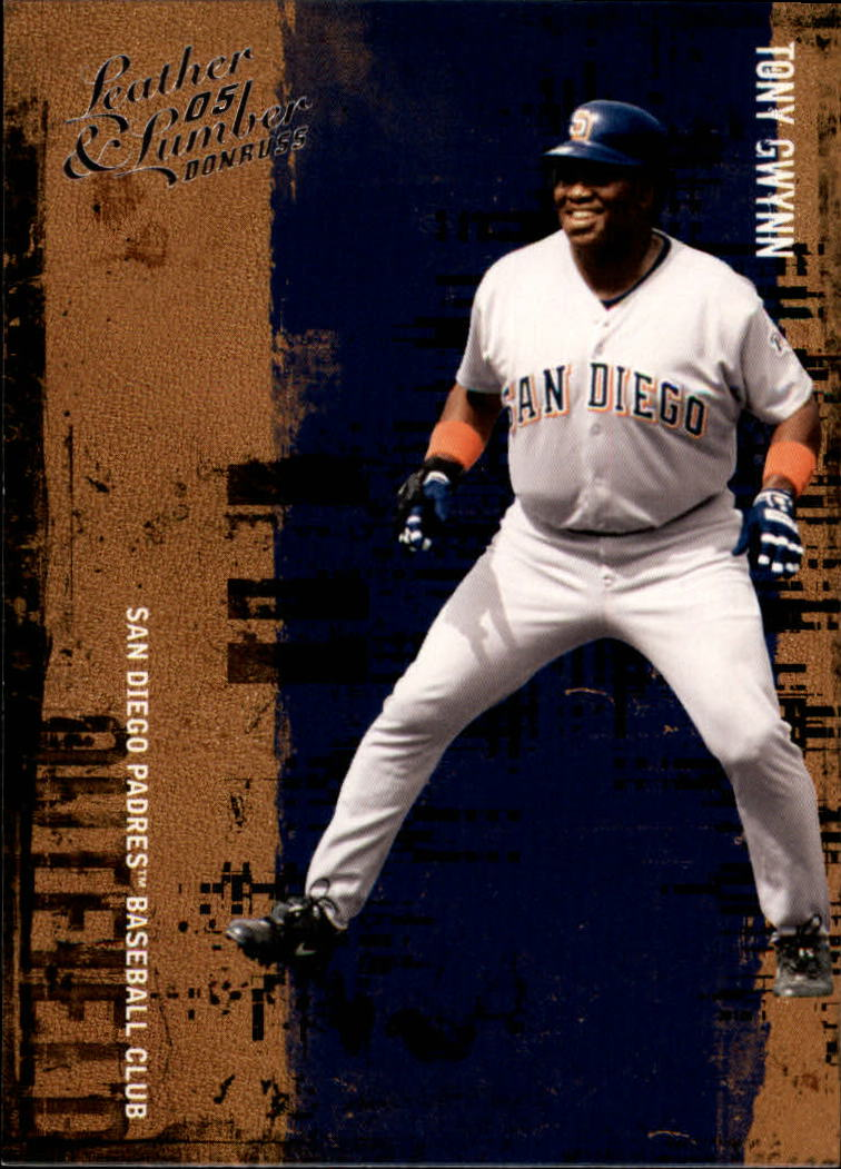 2005 Leather and Lumber #149 Tony Gwynn RET front image