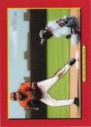 2005 Topps Turkey Red Red #43 Out At Second M.Tejada CL
