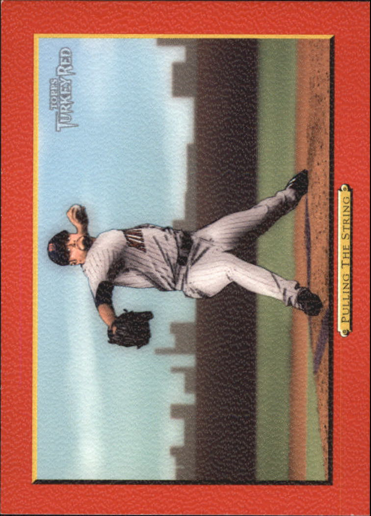 2005 Topps Turkey Red Red #52 Pulling String J.Santana CL