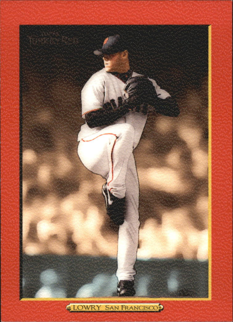 2005 Topps Turkey Red Red #248 Noah Lowry