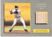 2005 Topps Turkey Red Relics #AR2 Alex Rodriguez Bat G