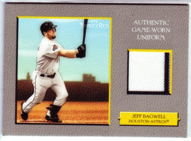 2005 Topps Turkey Red Relics #JB Jeff Bagwell Uni H