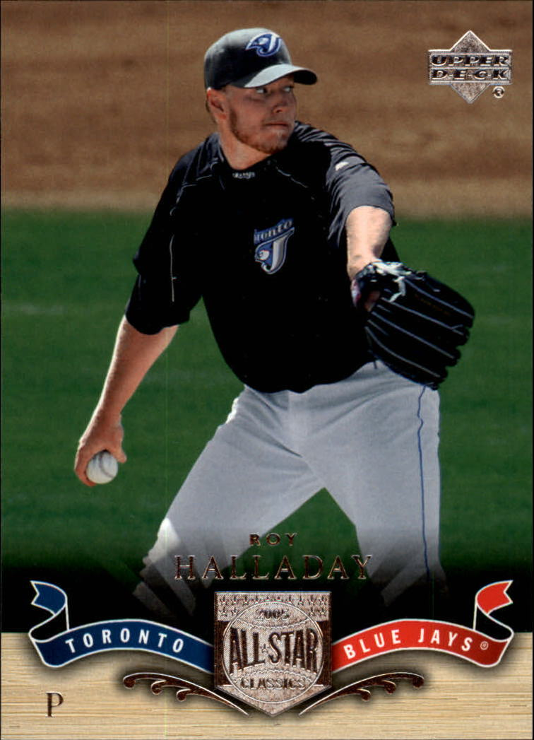 2005 UD All-Star Classics #41 Roy Halladay