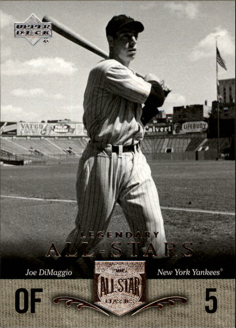 2005 UD All-Star Classics #87 Joe DiMaggio LGD