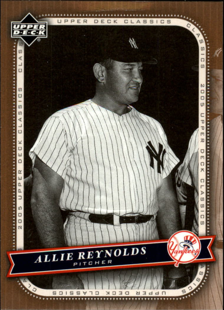 2005 Upper Deck Classics #3 Allie Reynolds