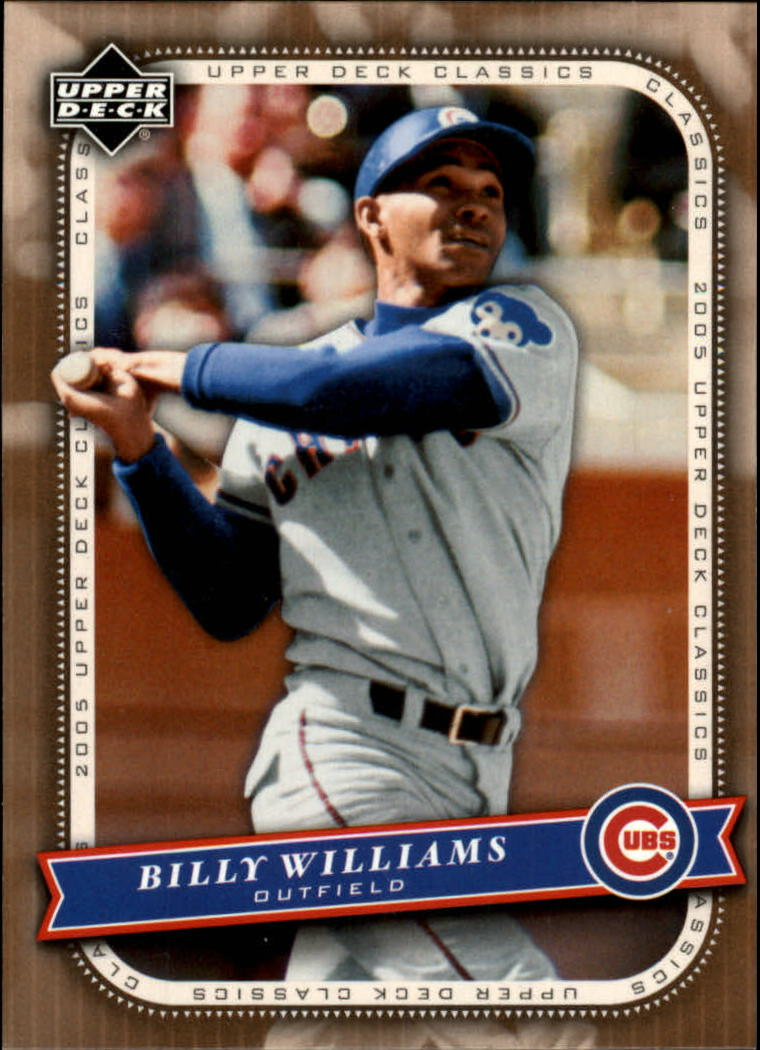 2005 Upper Deck Classics #8 Billy Williams