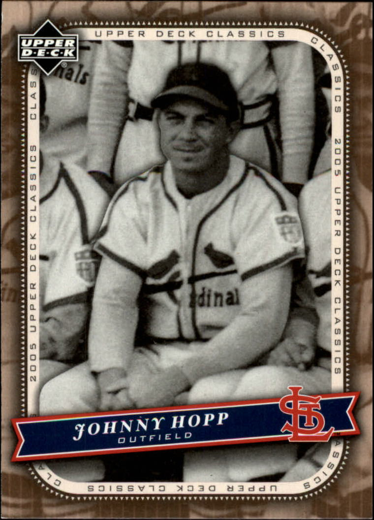 2005 Upper Deck Classics #20 Johnny Hopp