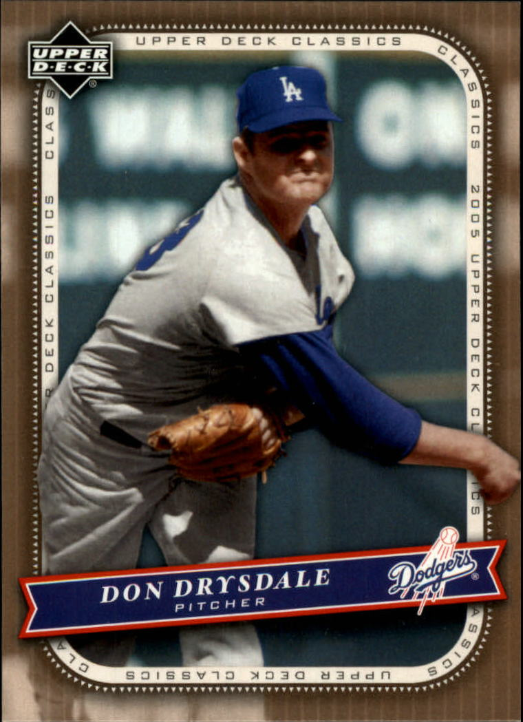 2005 Upper Deck Classics #26 Don Drysdale