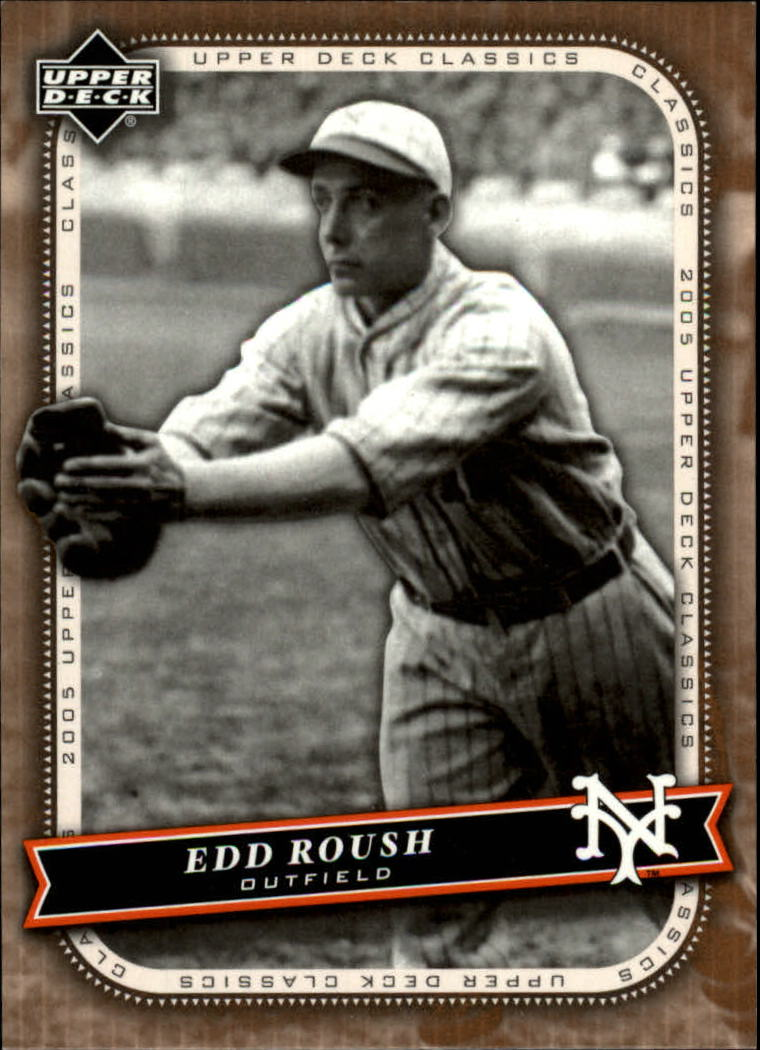 2005 Upper Deck Classics #30 Edd Roush