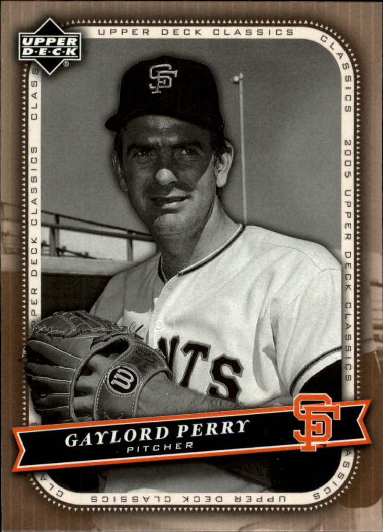 2005 Upper Deck Classics #37 Gaylord Perry