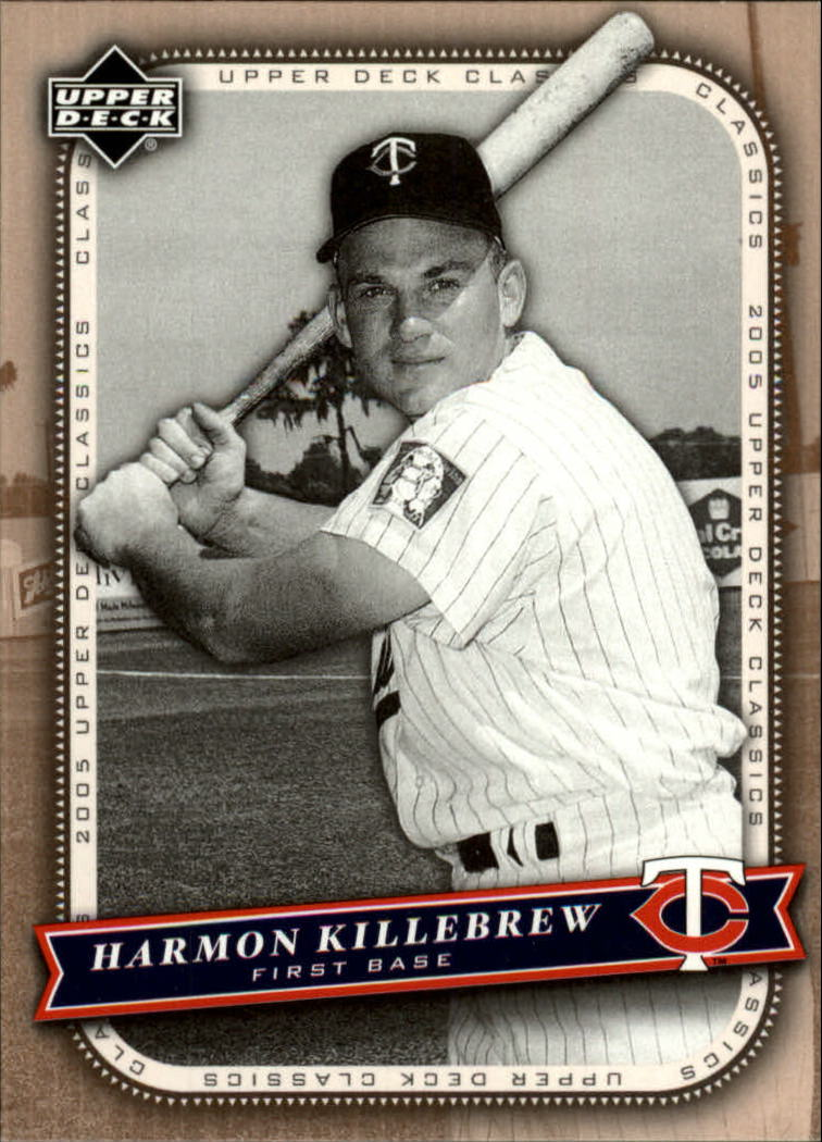 2005 Upper Deck Classics #42 Harmon Killebrew