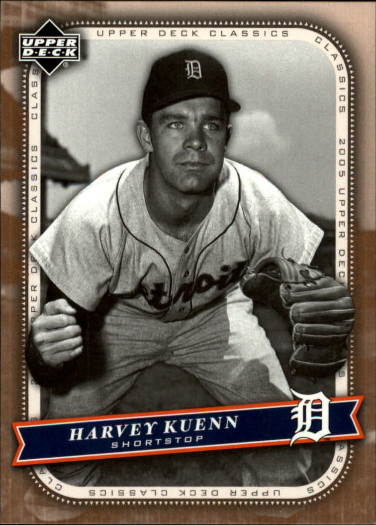 2005 Upper Deck Classics #43 Harvey Kuenn