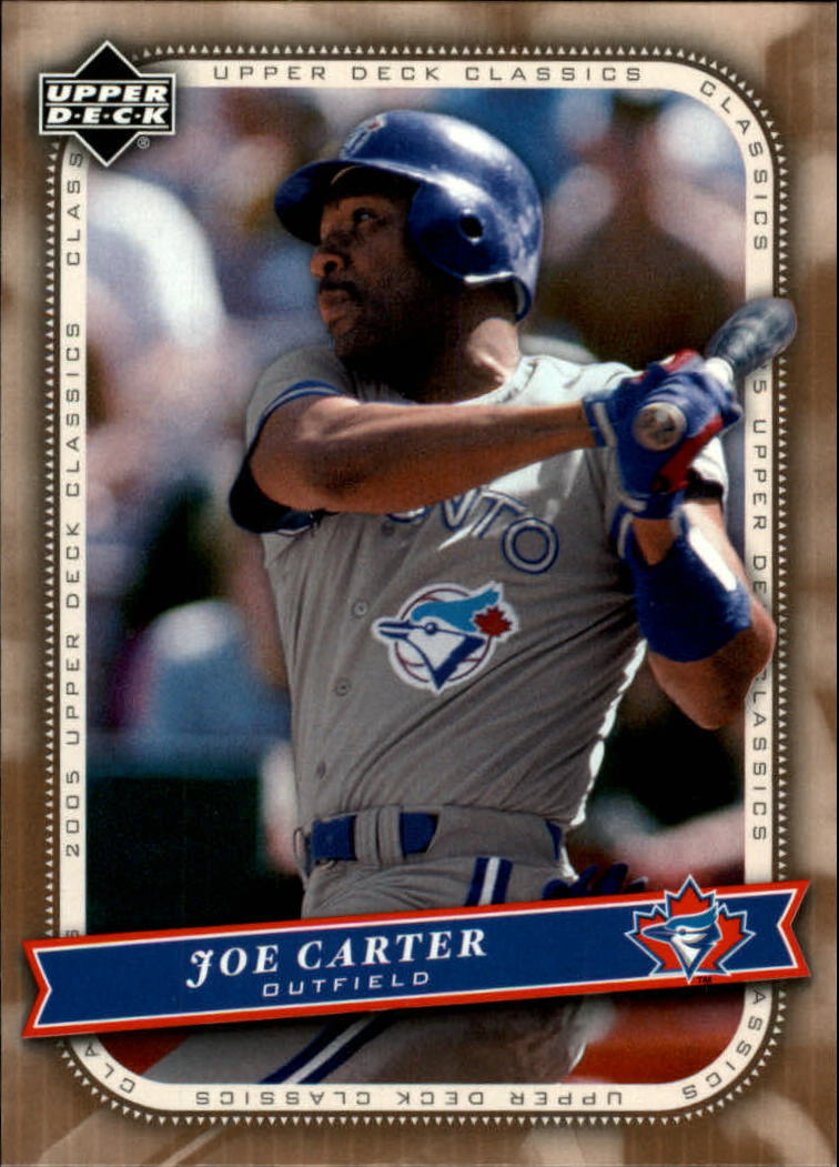 2005 Upper Deck Classics #51 Joe Carter