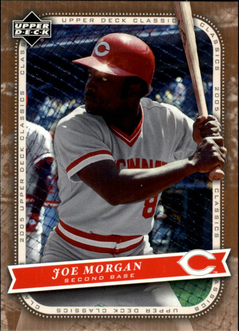 2005 Upper Deck Classics #53 Joe Morgan