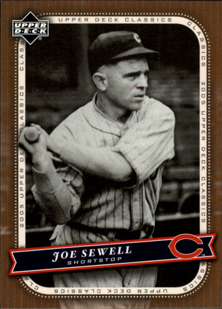 2005 Upper Deck Classics #54 Joe Sewell