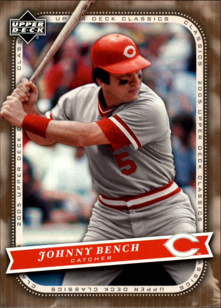 2005 Upper Deck Classics #56 Johnny Bench