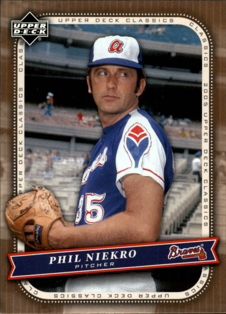 2005 Upper Deck Classics #76 Phil Niekro
